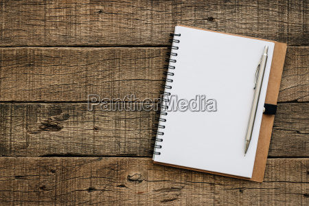 book blank for copy text on