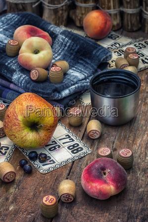 comida verano veraniego canasta fruta al