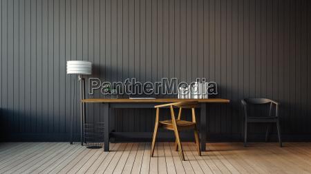 el interior moderno de la oficina