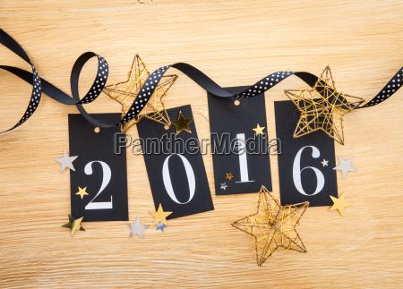 2016 brillo decoracion