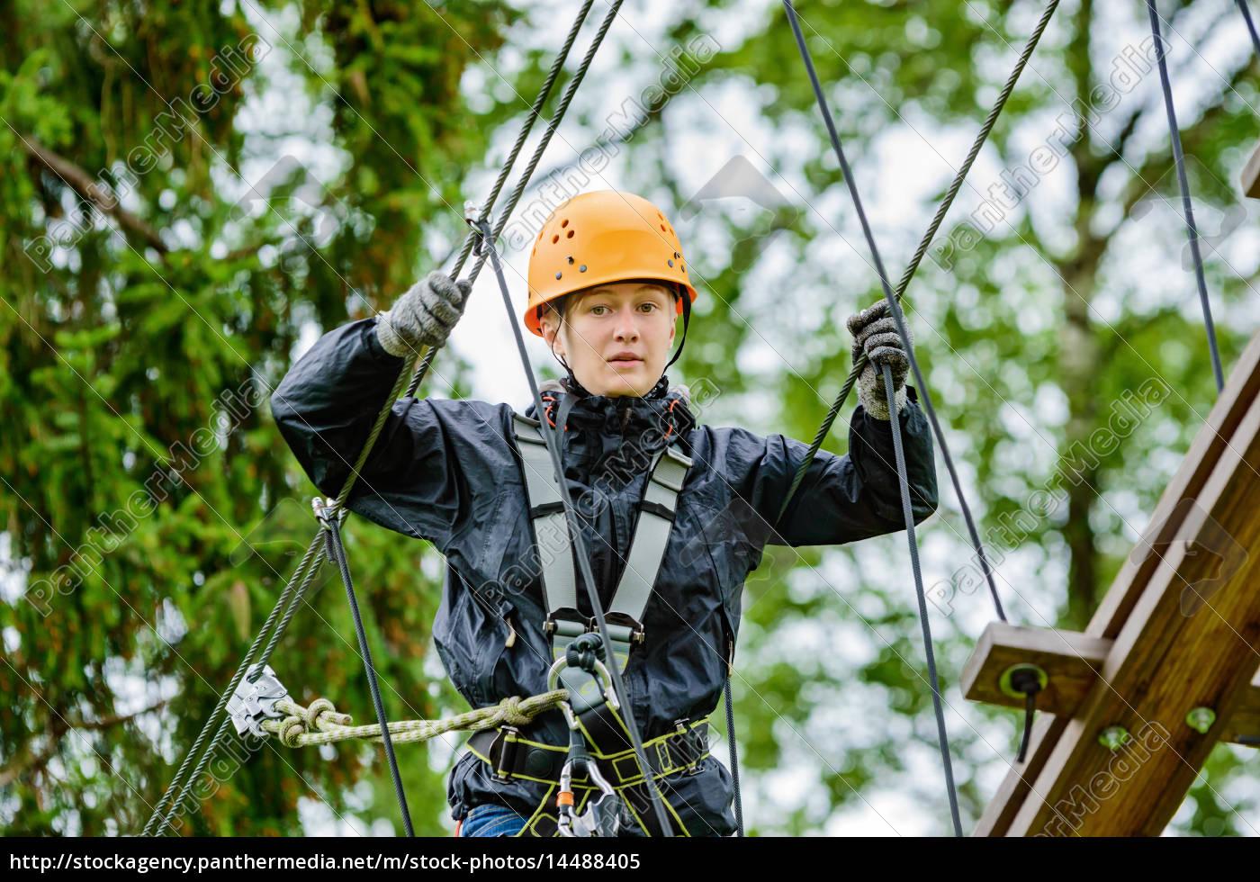 aventura, a, gran, altitud - 14488405