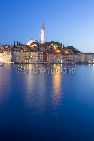 old town of rovinj on adriatic