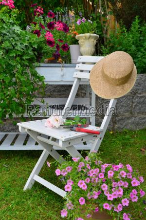 muebles de verano de jardin