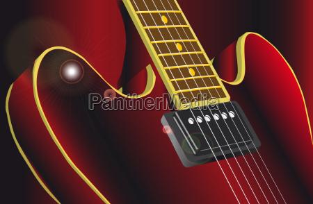 musica electrico guitarra instrumento de cuerda