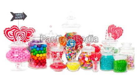 buffet de caramelos
