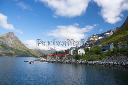 gryllefjord senja noruega