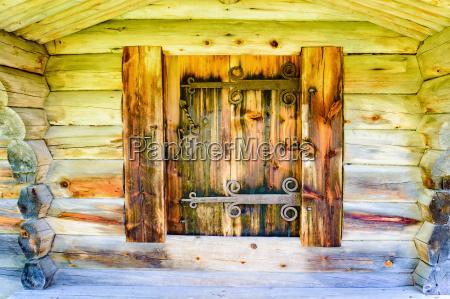 cerradura detalle antiguo puerta gantry entrada