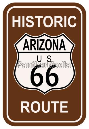 ruta historica de arizona 66