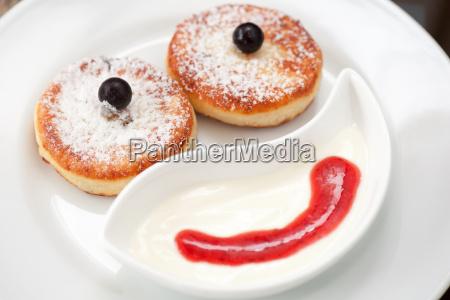 comida dulce primer plano azucar pastel