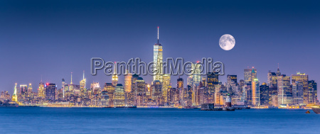 nueva york city manhattan skyline