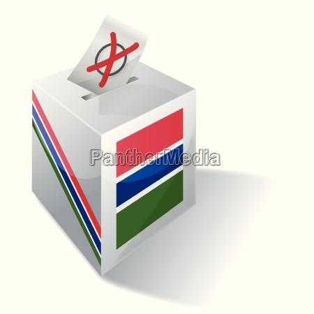 caja electoral gambia