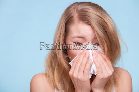 alergia a la gripe ninya enferma