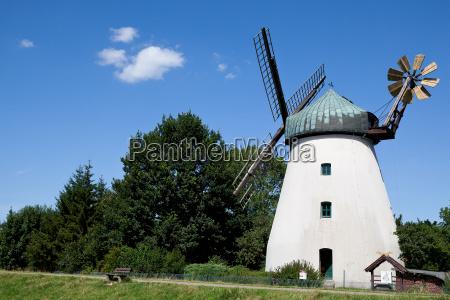 molino de viento en tander