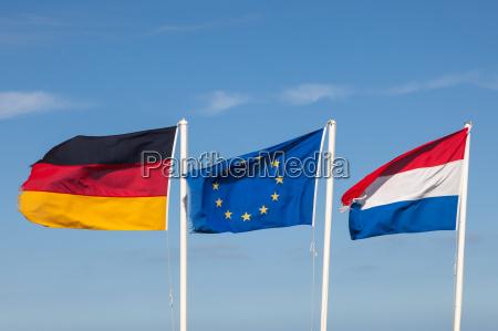 banderas de alemania paises bajos y