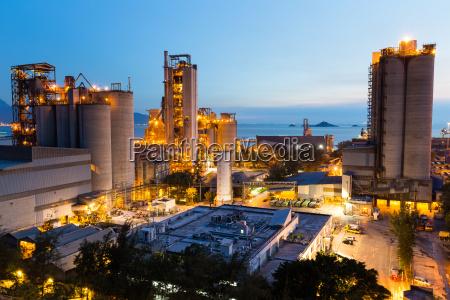 torre piedra industria industrial maquinaria noche