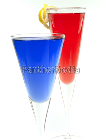 azul vidrio vaso bebidas beber bebida