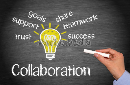 colaboracion concepto de negocio