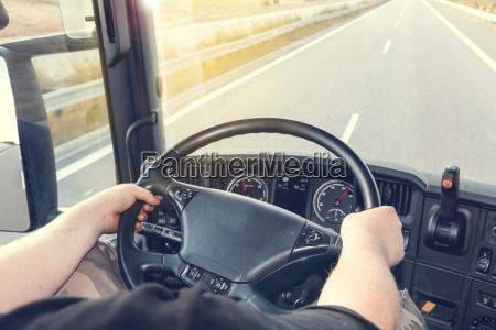 conduccion de camiones
