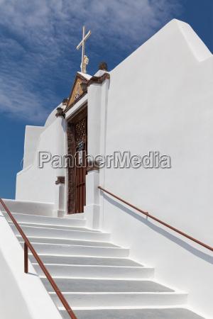 escalera iglesia cruz puerta cuesta arriba