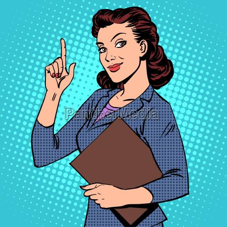 empresaria femenina exitosa
