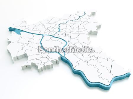 hamburgo distritos 54 megapixeles