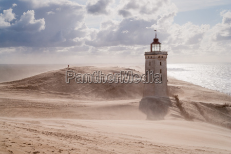 tormenta, de, arena, en, el, faro - 14771823