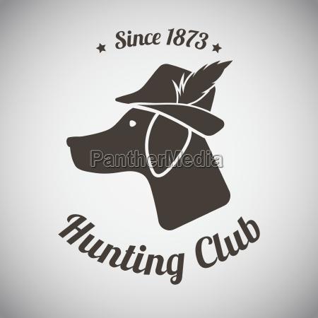 emblema de la caza