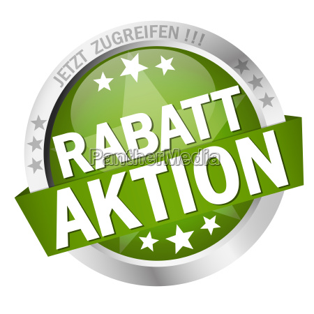 button with text rabattaktion
