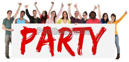 disco personas gente hombre celebrar celebra