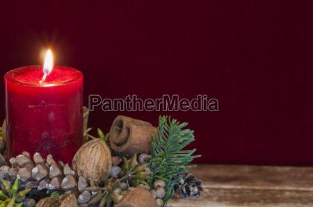 fondo adornos navidenyos