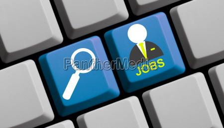 busqueda de trabajo de teclado