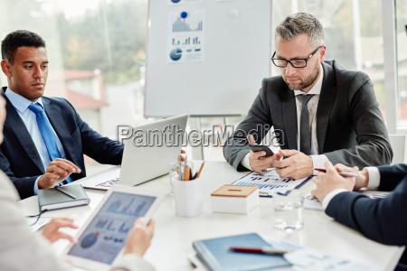 gadgets en el negocio
