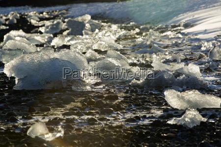 bloques, de, hielo, en, la, laguna - 14933299
