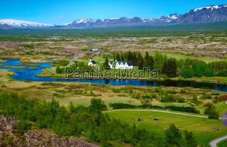 parque nacional islandia paisaje naturaleza