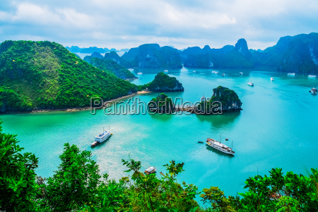 vista panoramica de las islas en