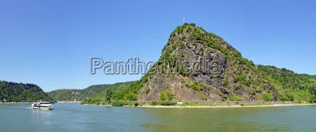loreley rock en el rio rin