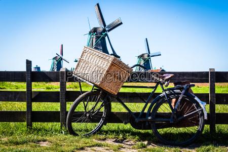 la bicicleta en holanda