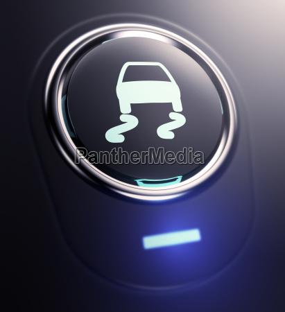 cerrar primer plano moderno trafico negro