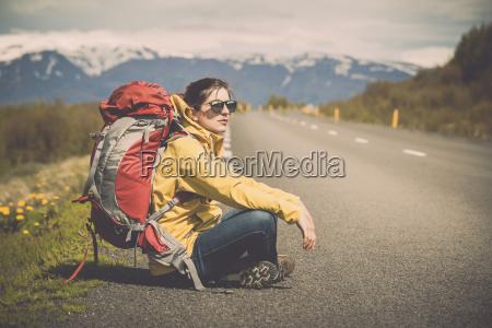 turista mochilero