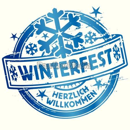 stamp winterfest