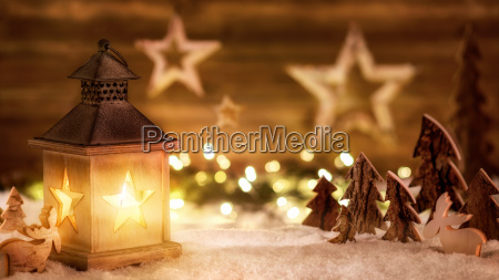 escena navidenya de madera en la