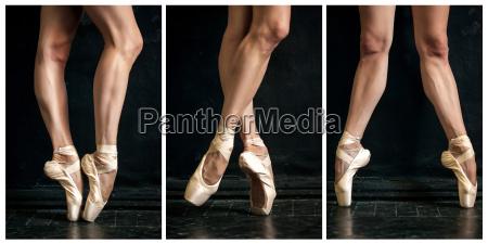 collage de bailarina clasica39 piernas en