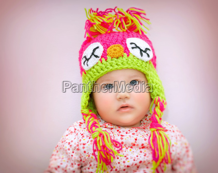 hermoso retrato de bebe