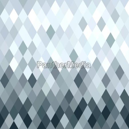 rombo metalico de plata geometria patron