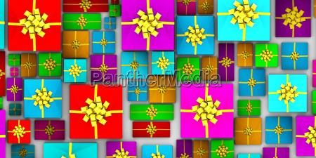 antecedentes de regalos de navidad