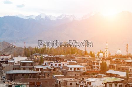 leh city in north india