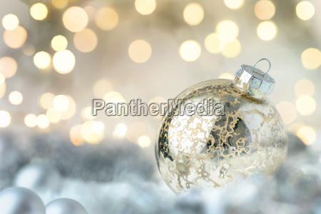 brillante chucheria de navidad y luces