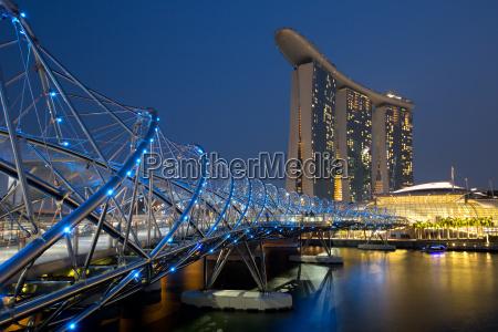 horizonte de singapur singapur marina bay