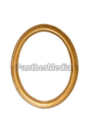 el, marco, decorativo, ovalada - 15531213