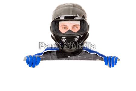 conductor de carreras